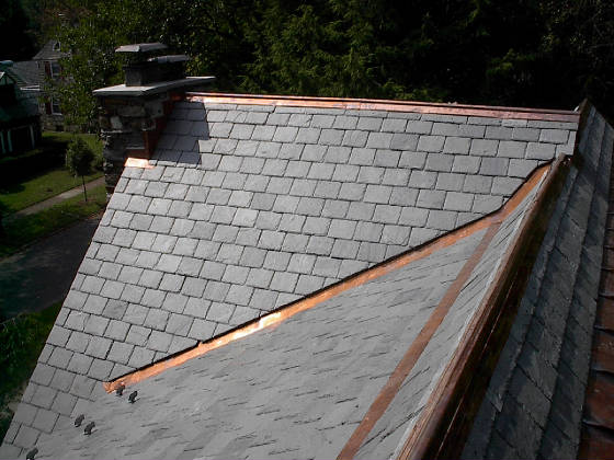 Miller Roofing Narberth Pa Slate Roof Restoration After